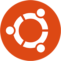 Logo Ubuntu Cof Orange Hex