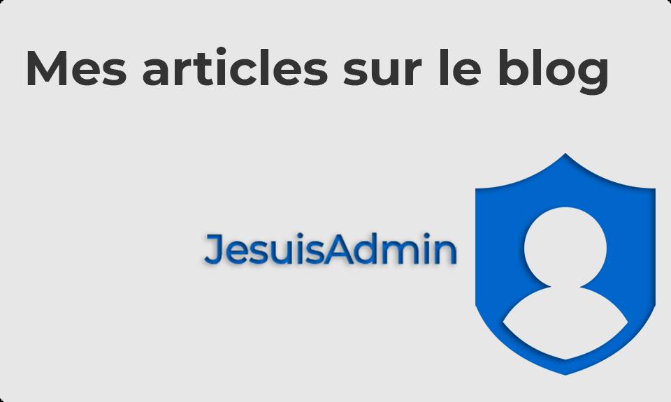 Profile 01 Jesuisadmin